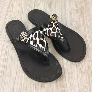 Tory Burch Eloise Flat Thong Sandals size 7